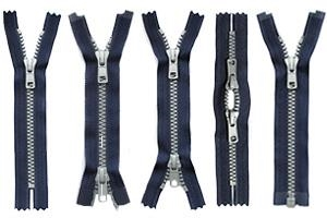 Coil Zipper Cut length